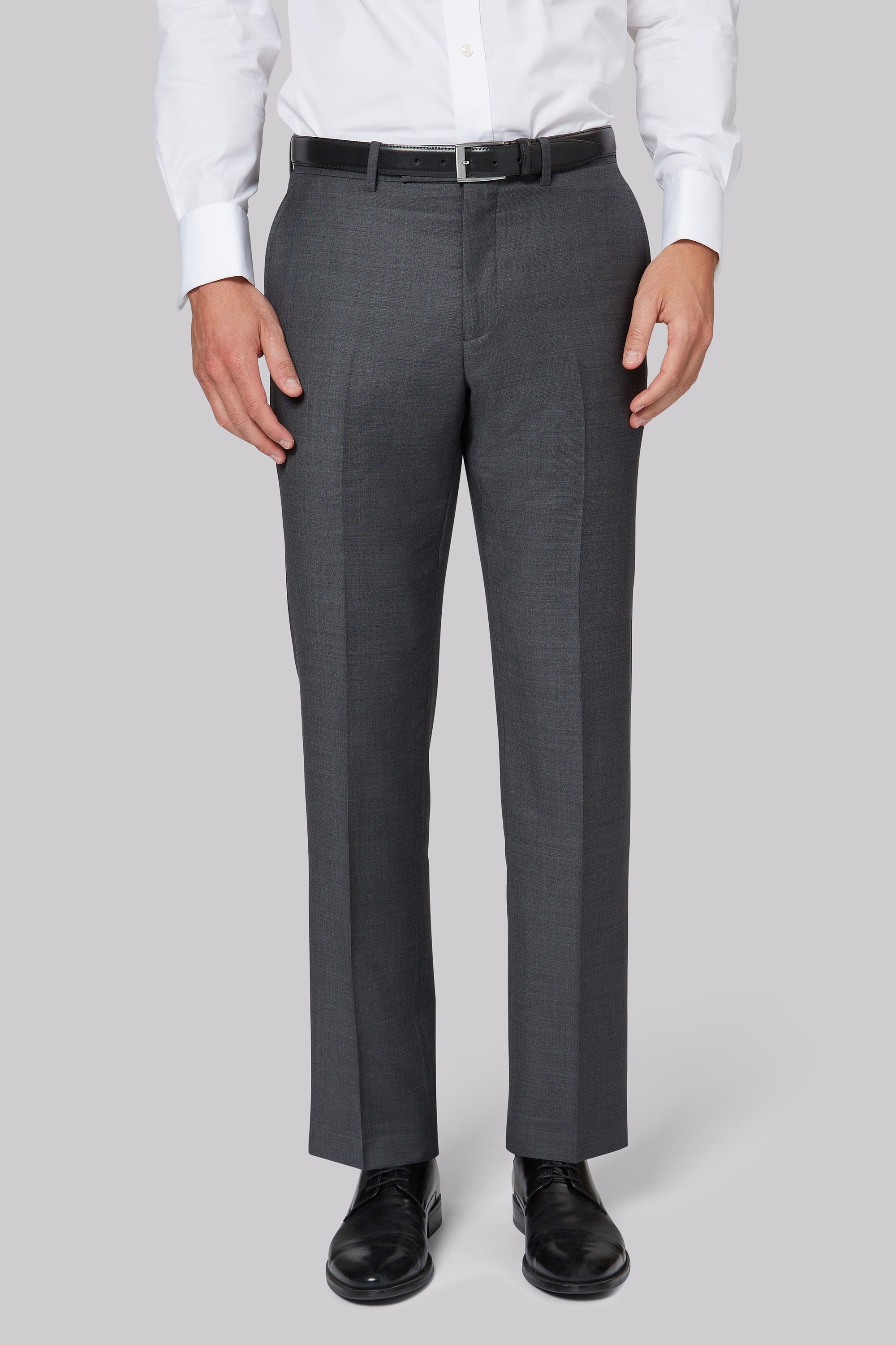 Ermenegildo Zegna Cloth Regular Fit Grey Trousers