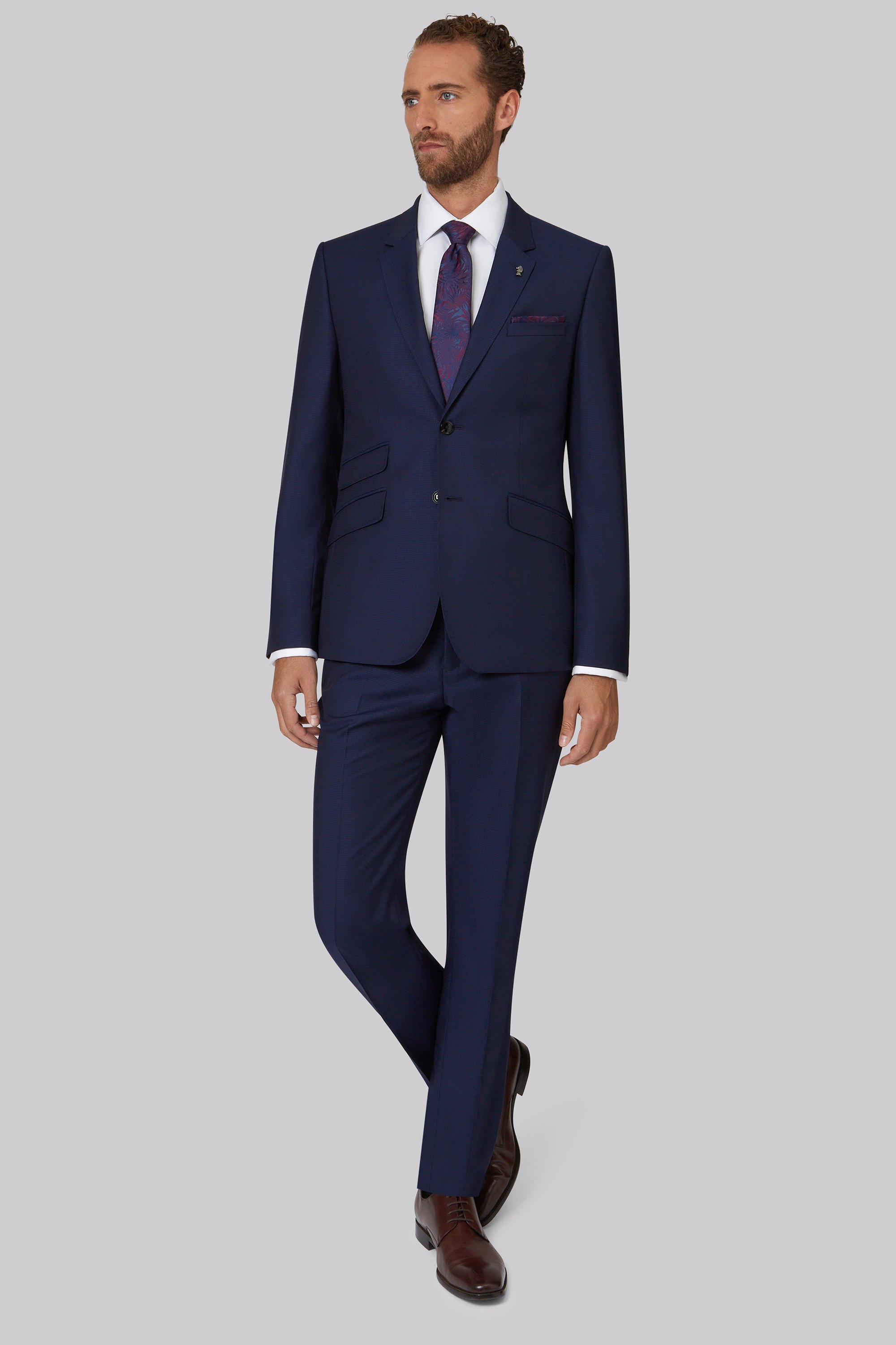 Ted Baker Blue Suits And Shoes
