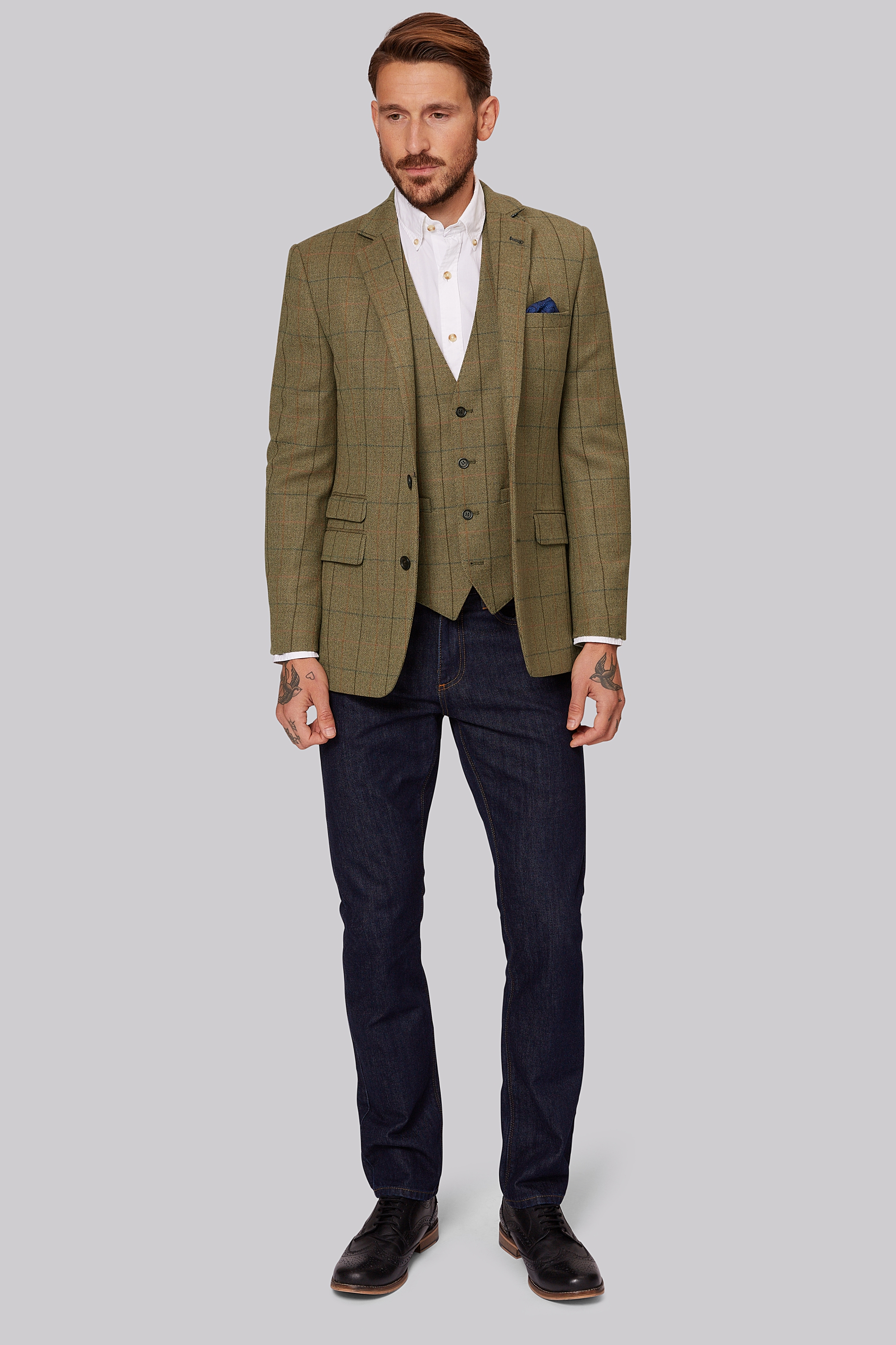 Check and Tweed Style Jackets & Blazers | Moss Bros