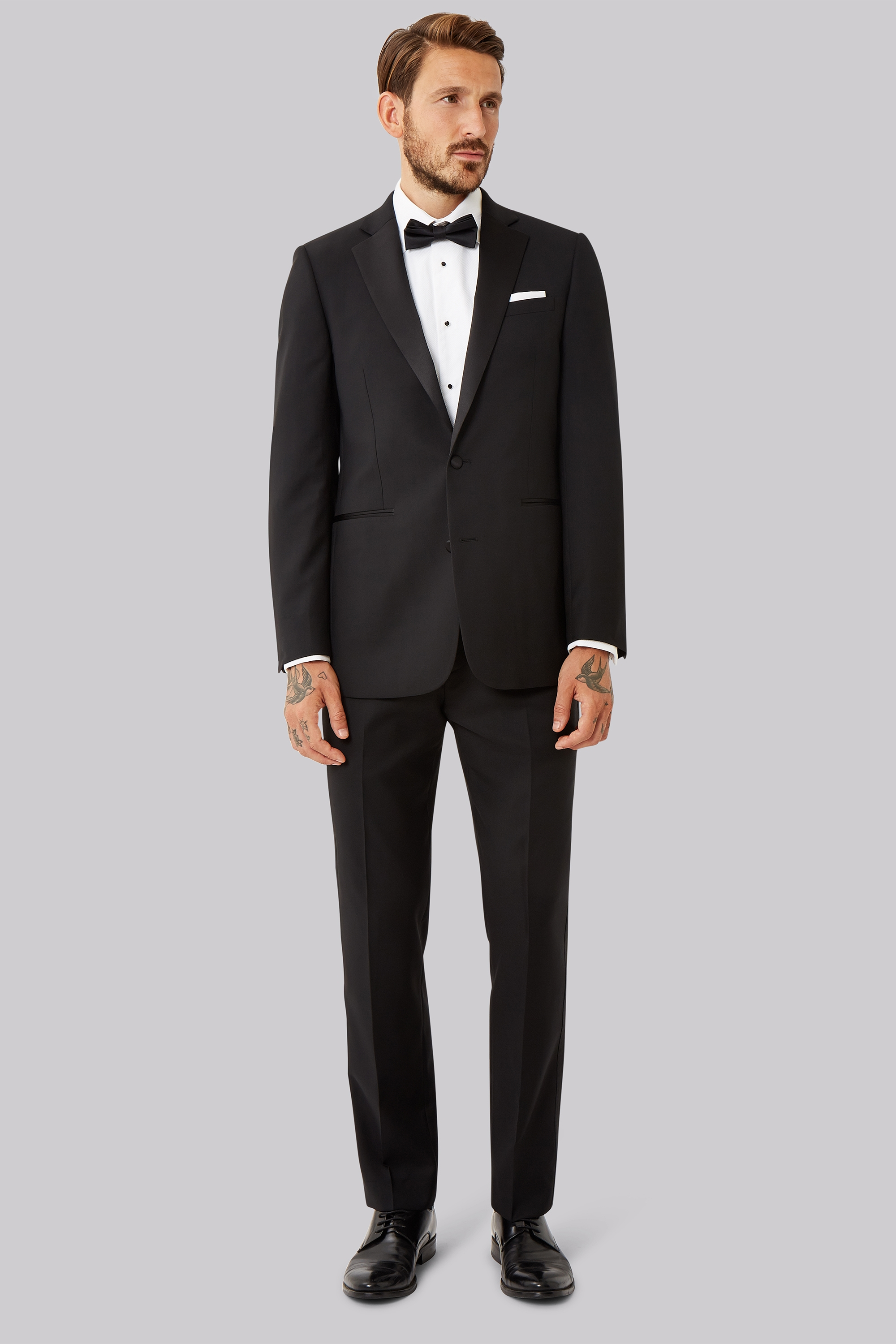 Step 1: Make sure your tux fits.