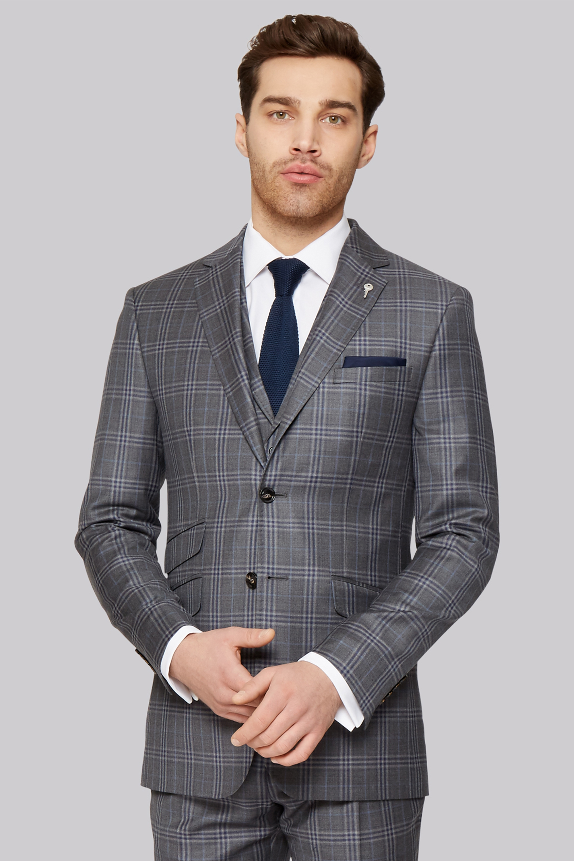 a4931121a1f3a ... Ted Baker Tailored Fit Grey Check Jacket. prev 50% off 3527c c2ad7 ...