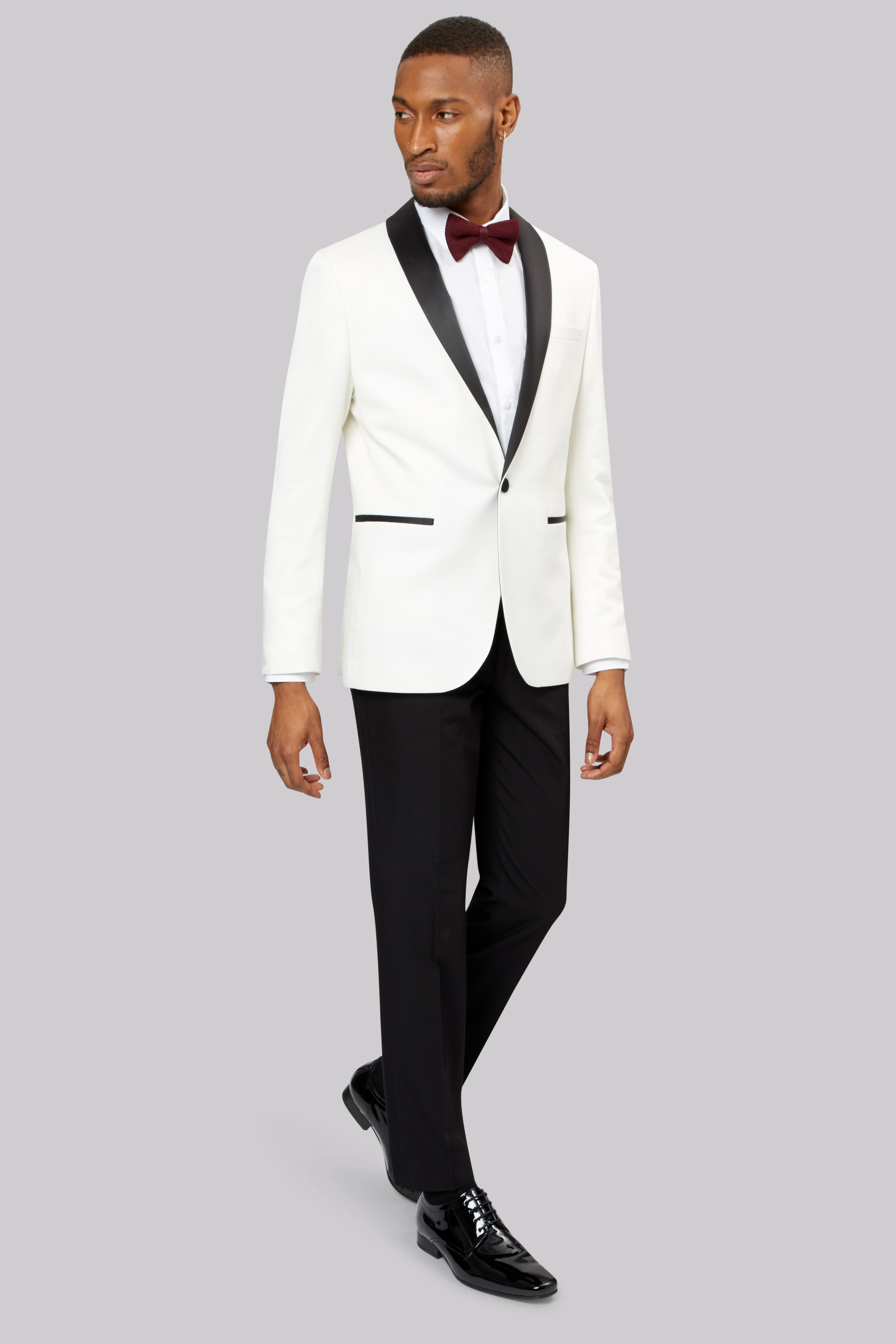 sku#mrs ts mens solid color white 2 button wool feel 2pc suit by:fitted slim fitc cut paul super 's extra fine $ SKU#LW Casual Shortsleeves $