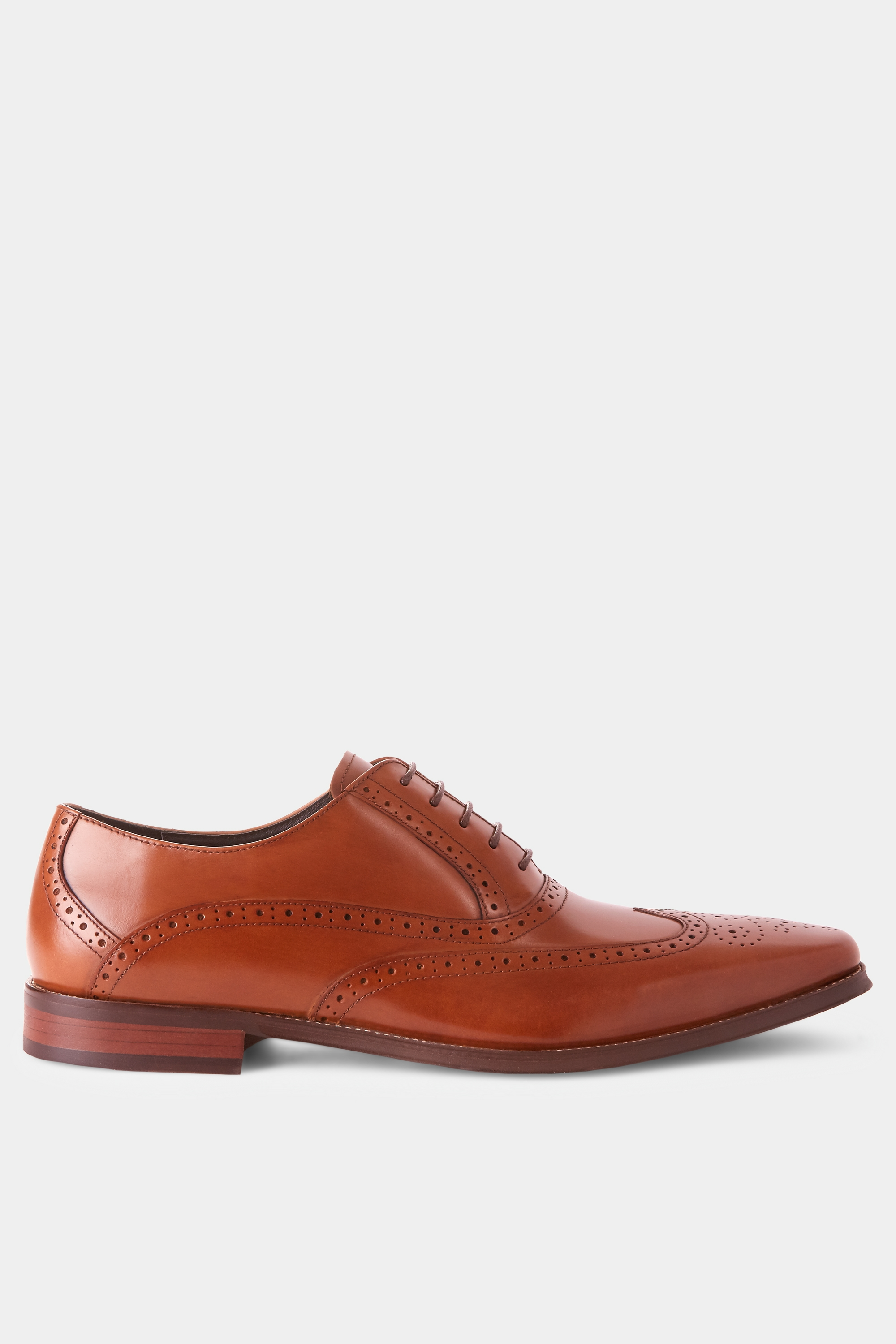 c0250d2cb0d John White Hercules Tan Brogue Shoe