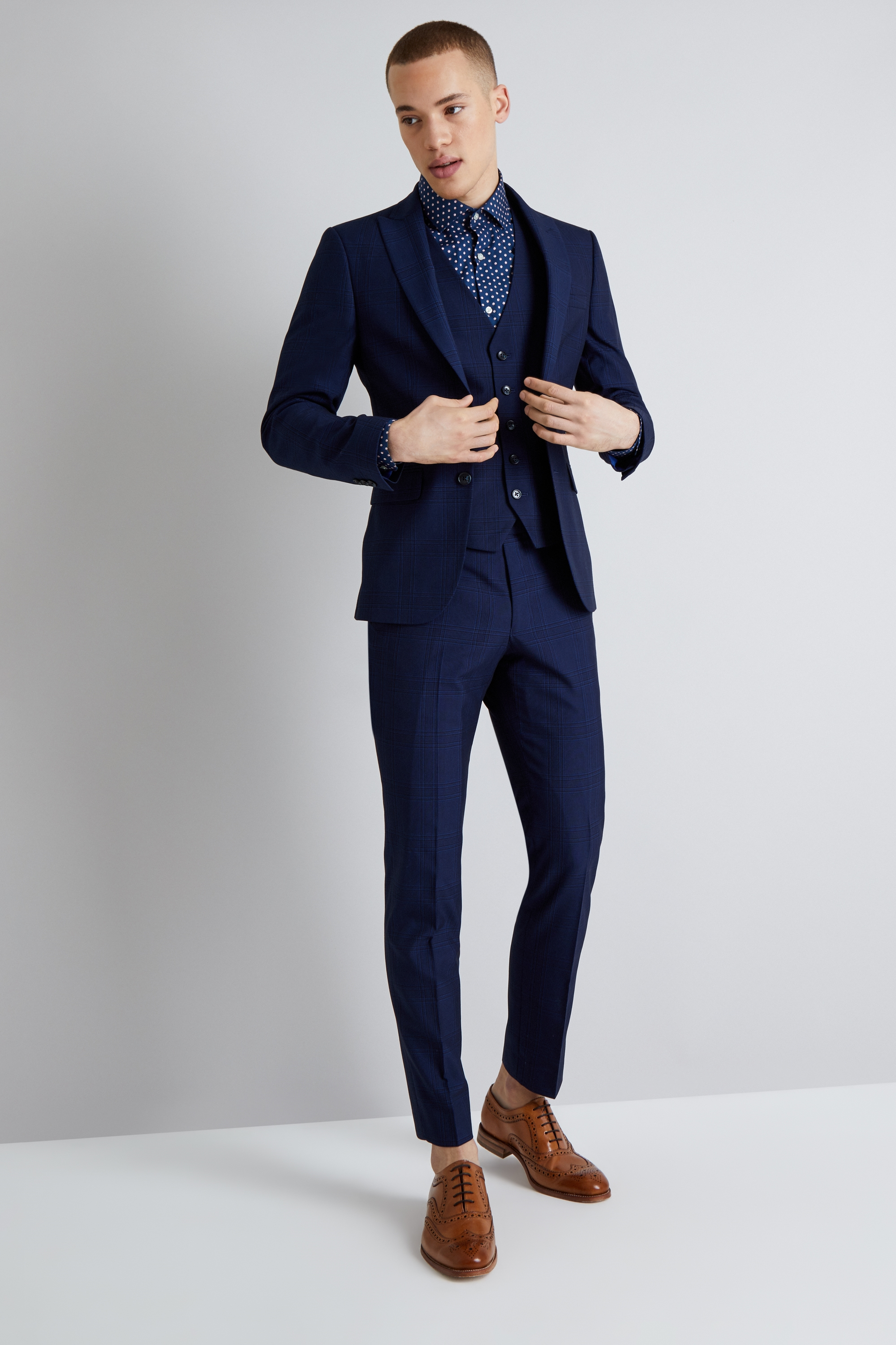 Suit TIME - Short - navy O6oDSOqeZg