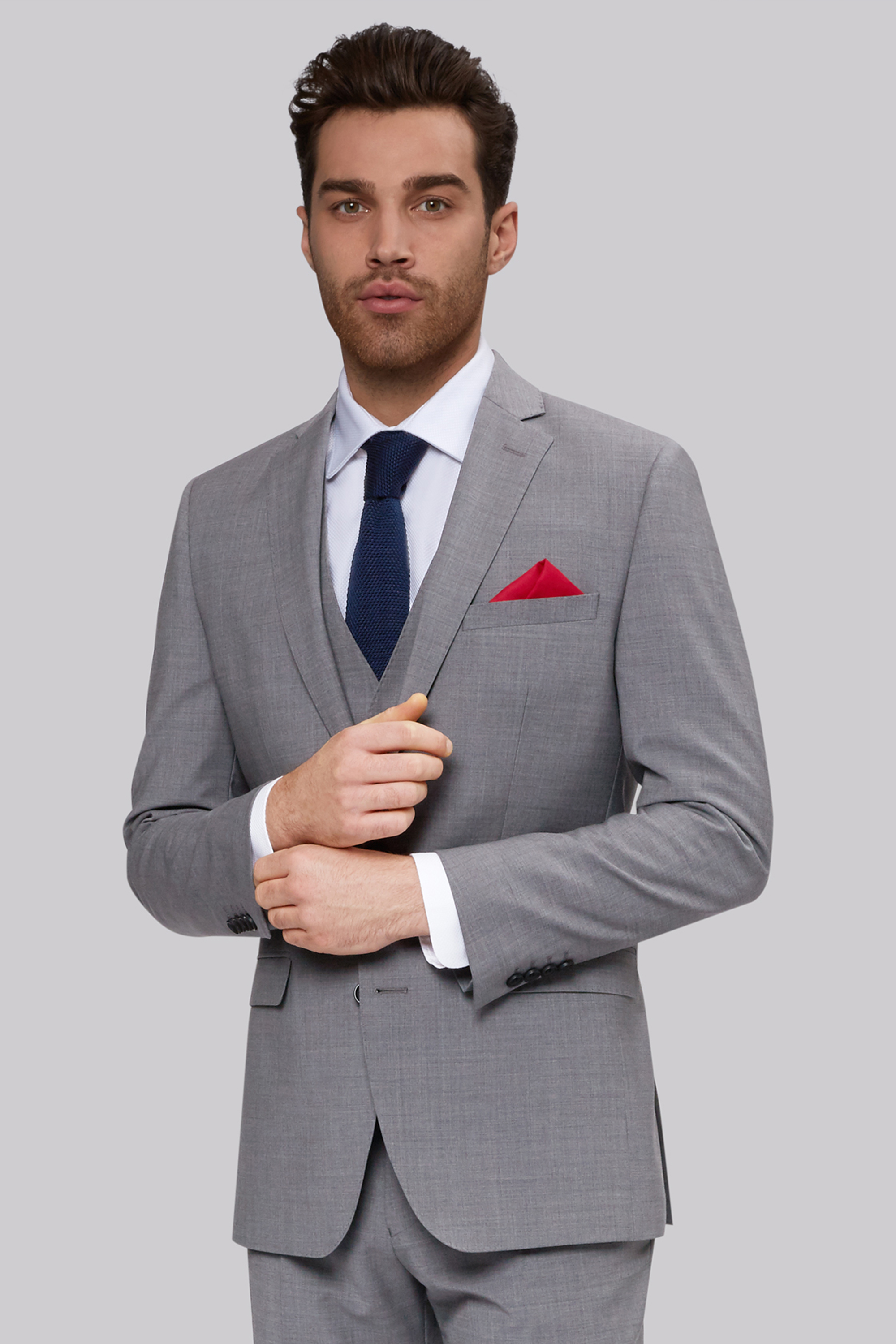 Find light gray suit from a vast selection of Suits for Men. Get great deals on eBay!