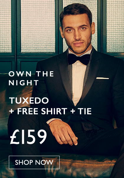 Dinner Suit + Free Shirt & Tie