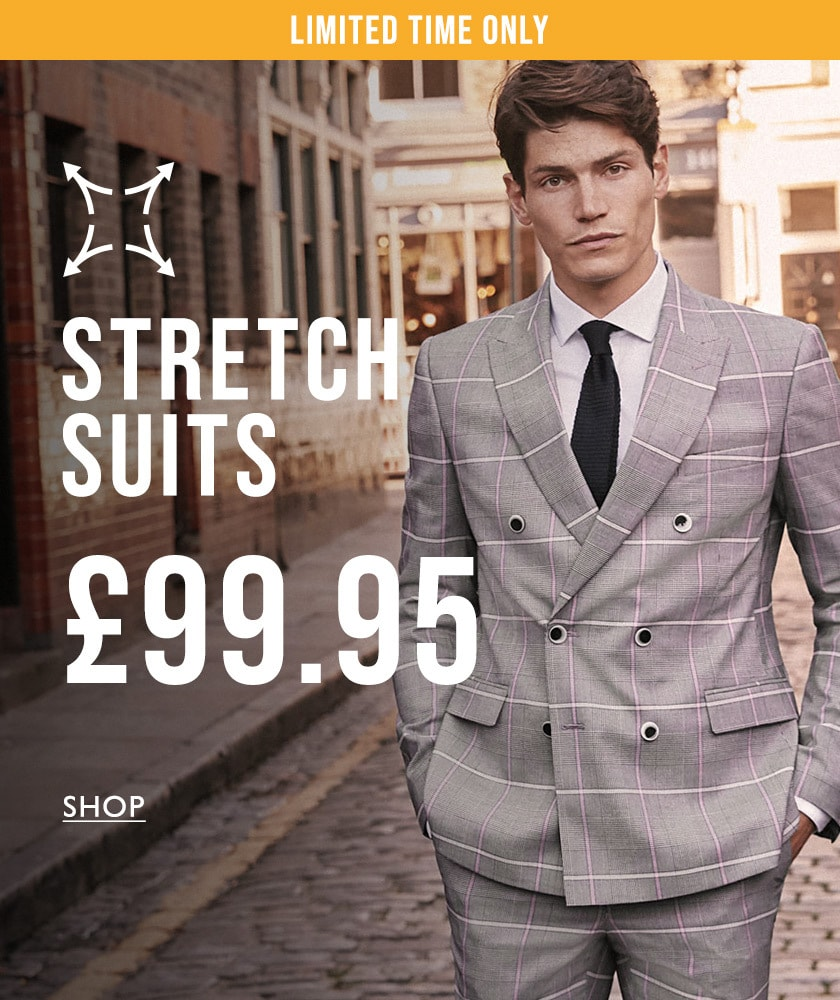 £99.95 stretch suits