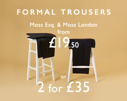 2 for £35 Trousers OPB