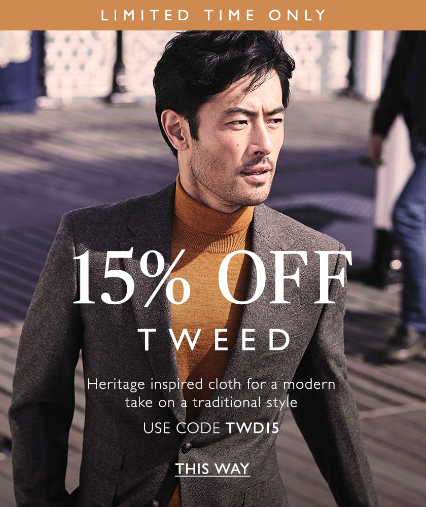 15% off tweed