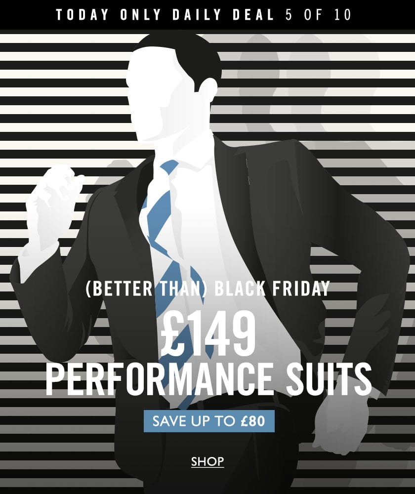 daily deal 5 - £149 performance suit