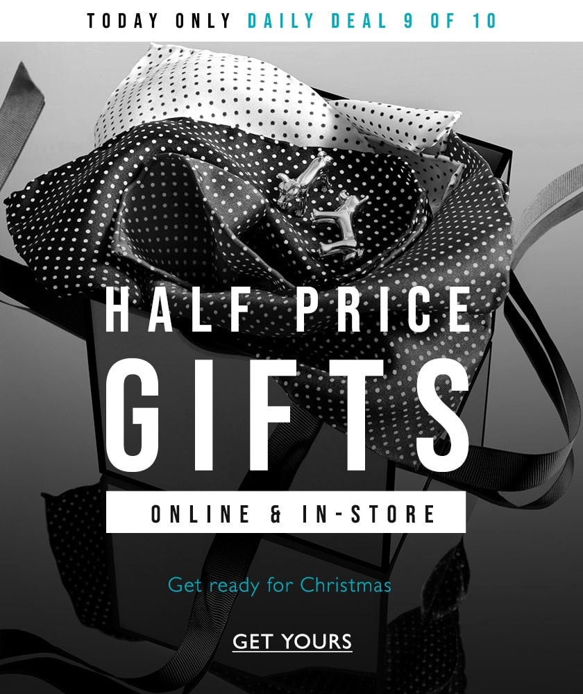 half price gifts