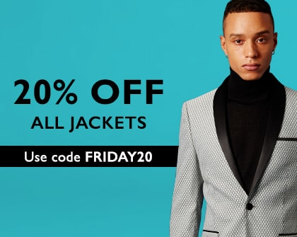 20% off Jackets HPB