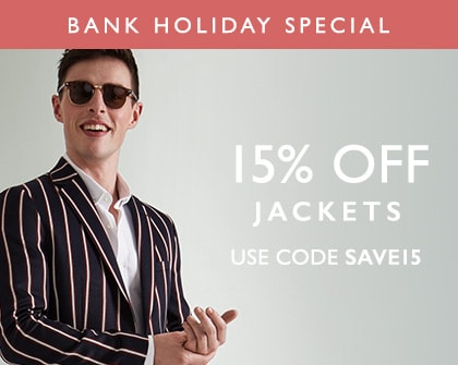 15% Off Jackets